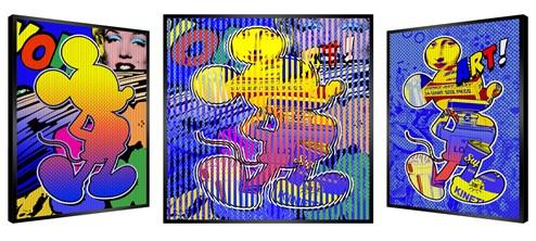 Mini Mickey by Patrick Rubinstein - Kinetic Edition